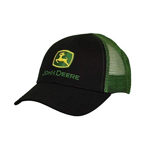 John Deere Kids Mesh Hat, Black