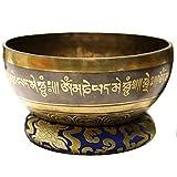 GYZX Cuenco de Canto Tibetano de Nepal, Cuenco de...