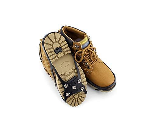 Slidefix Schuhspikes Anti Rutschgefahr. Hilft bei Schnee & Eis. Ideale Lösung im Winter und sorgt für sicheres Laufen, Wandern oder sorgenfreie Spaziergänge im Schnee und auf Eis. Universal Gr. 43-48.