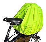 NICE 'n' DRY Abdeckung und Regenschutz für Fahrradkorb XXL Neongelb