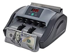 Warranty: A full 1-year warranty means you can purchase with confidence. Detection: UV, half, double, and chain notes are all detected by the Kolibri money counter while counting 1,000 bills per minute. Quality: durable metal construction makes this ...