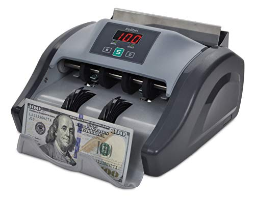 Kolibri Money Counter with Counterfeit Bill Detection, Bill Counting Machine with 1-year warranty