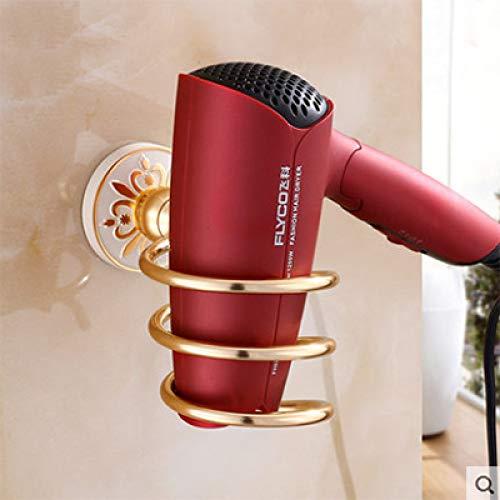 VVW&LIU Space Aluminium Fashion White Wall Mounter Conjuntos de Accesorios de ba?o Bastidor de Toallas de Papel Accesorios de ba?o, secador de Pelo