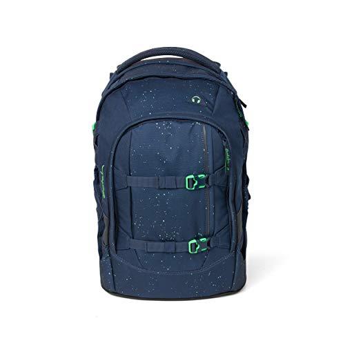 Satch Pack Space Race Rucksack Freizeit und Sportwear Unisex Kinder, Blue Green Speckled (Grün), Einheitsgröße