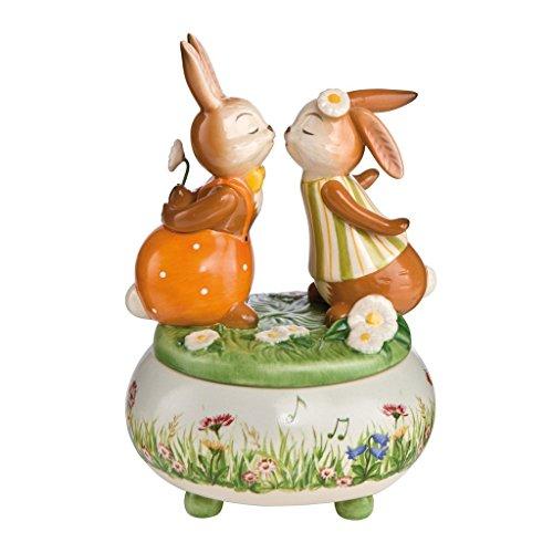 Goebel Ostern EIN Herz und eine Seele - Spieluhr Bunt