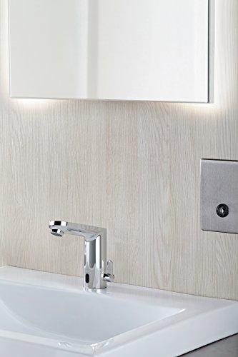 Grohe – Waschtisch-Sensorarmatur, Kalt- und Warmwasser, Batterieversorgung inkl., Funktionsmodi, Chrom - 3