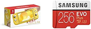 Nintendo Switch Lite イエロー + Samsung EVO Plus 256GB microSDXC
