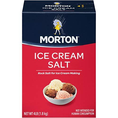 Morton Ice Cream Salt, 4 Pounds