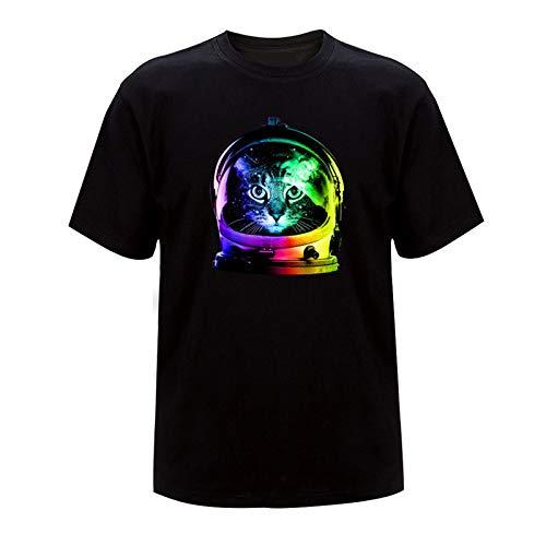 YANFANG 2021 Animal Impresión Mujeres Tops Camiseta Suelta de Manga Corta Mujer O-Cuello Casual Vintage Camiseta Abullonada Primavera Verano para Mujer