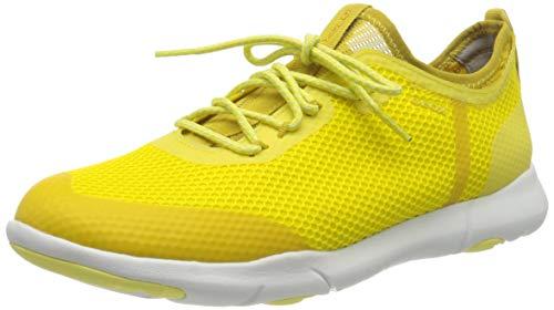 Geox Herren U Nebula X A Sneaker, Gelb (Lt Yellow C2004), 44 EU