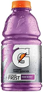 Gatorade G Frost Rain Berry Thirst Quencher Sports Drink 32 oz (Pack of 12)