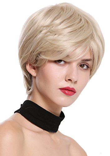 WIG ME UP - IRIS-22H613 Perruque dame courte volume lisse mèches blond et blond platine
