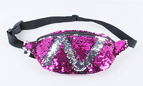 fhdc Taille Packs Hot Verkopen Europese en Amerikaanse Populaire Meisjes Zakken Effen Kleur Pailletten Sport Zakken