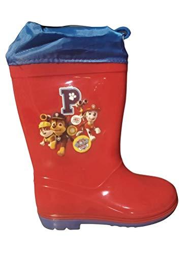Bottes de pluie Pat Patrouille (rouge, 22)