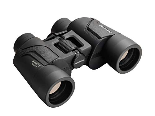 Olympus V501022BU000 Binocular 8x40 S - Ideal for Nature Observation, Wildlife, Birdwatching, Sports, Concerts , Black