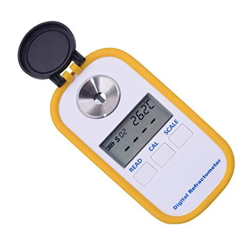 CPH20 DR 101 Refractómetro de miel digital 0 a 50 Brix Meter Refractómetro para medir contenido de azúcar