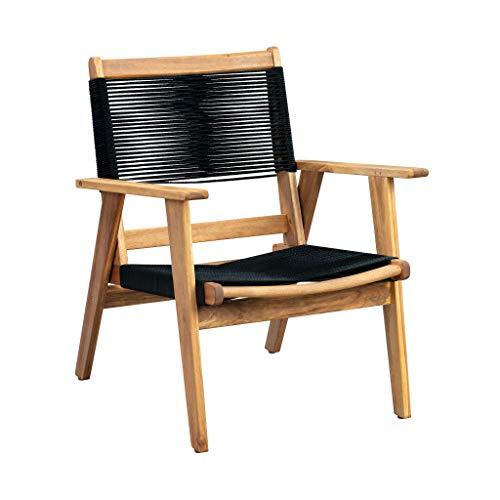 Patio Sense Kingsmen Sofa Chair, Natural