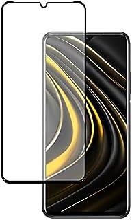 واقي شاشة من الزجاج المقوى بالكامل 21D مع صمغ كامل لهاتف شاومي بوكو M3