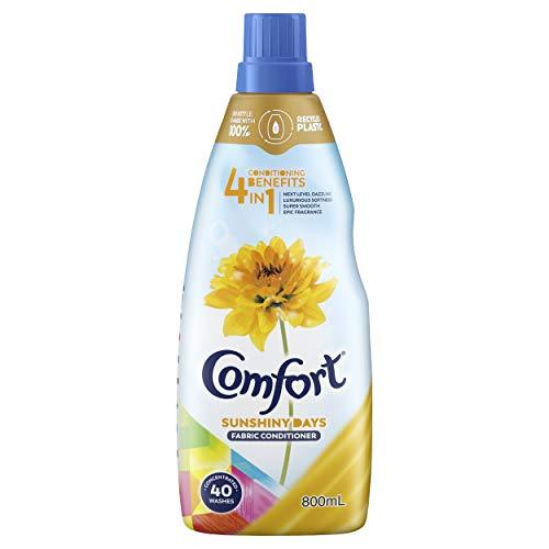 Comfort 4 in 1 Fabric Conditioner Sunshiny Days, 800ml