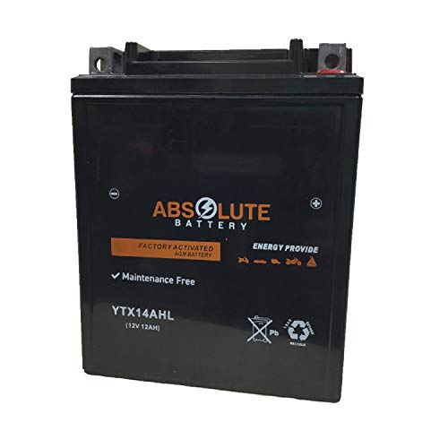 YTX14AHL-BS Replacement Battery for Arctic Cat 640 Tiger Shark 1997-1999 Jet Ski