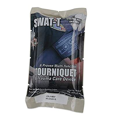 Tactical First Aid Kit: SWAT-T Tourniquet, Black, 1 Count by Everready First Aid