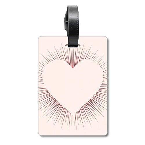 Etiqueta de identificación con Forma de corazón para el día de San Valentín