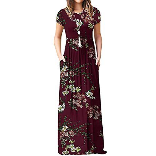 Frauenkleider mit Taschen Langarmkleider...
