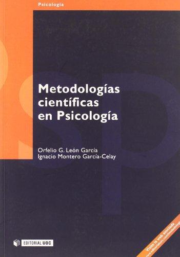 Metodologías científicas en Psicología (Manuales) (Spanish Edition)