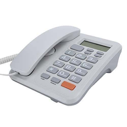 KX‑T2022 Teléfono Fijo con Cable de Escritorio para Oficinas, DTMF/FSK Teléfono Doméstico...