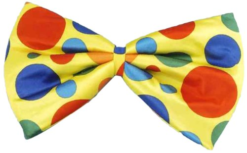 Forum Jumbo Polka Dot Clown Bowtie Bow Tie Jumbo Polka Dot