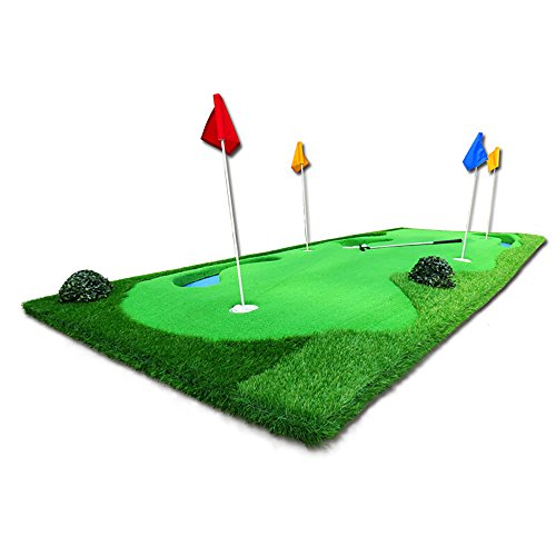 Great Price! ChenCheng Golf Outdoor Indoor Putt Practice Mat 150×375cm Outdoor Sport