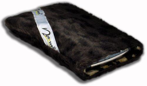 Norrun Handytasche / Handyhülle # Modell Leorna # ersetzt die Handy-Tasche von Hersteller / Modell TCM (Tchibo) Kompakt-Handy 2 # maßgeschneidert # mit einseitig eingenähtem Strahlenschutz gegen Elektro-Smog # Mikrofasereinlage # Made in Germany