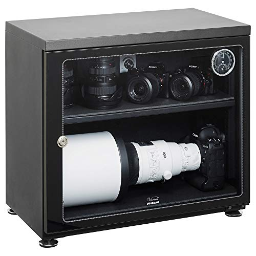 【Amazon.co.jp限定】HAKUBA 防湿庫 E-ドライボックス 85L KED-85W
