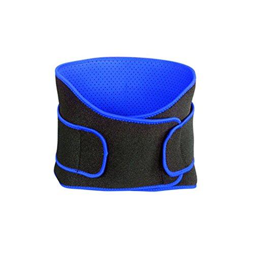 SueSupply 1 Stück Gewichthebergürtel Fitness Gürtel für Bodybuilding, Krafttraining, Gewichtheben und Crossfit Training Trainingsgürtel für Damen und Herren-Blau