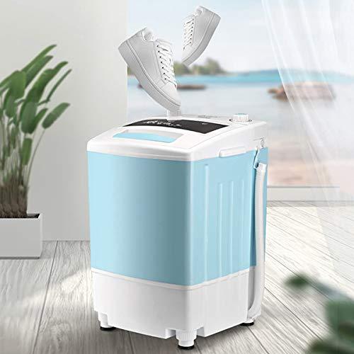 LXJXXJK Mini-schoenenwasmachine, draagbaar voor het wassen van de schoenen, elektrische 360 graden, geen dodehoek, aangepaste pulsatorschoenen, reiniging bluetooth, antibacteriële deodoriseren steriliseren