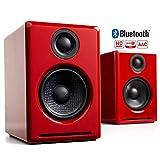 【国内正規品】Audioengine オーディオエンジン A2+ワイヤレス・パワードスピーカー l Bluetooth aptX対応・24bit DACアンプ内蔵 (ホワイト)