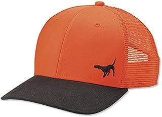 Mesh Back Waxed Brim Hat