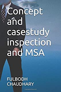 Concept and casestudy inspection and MSA