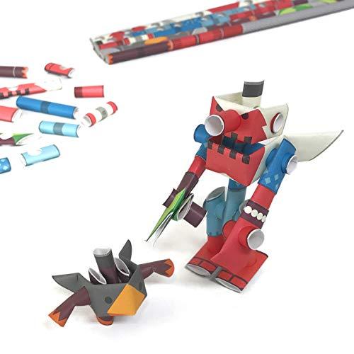 Paper Craft Tengu King & Tsubuten (japan import)