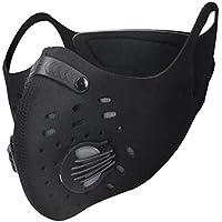 FASFSAF PM2.5 Máscara De Carbón Activado Máscara De Ciclismo A Prueba De Viento Bicicleta Antipolvo Media Cara Máscara De Invierno Máscara De Deportes Al Aire Libre Toda La Temporada Nuevo,D