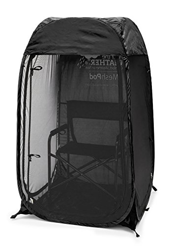 Under the Weather MeshPod 1-Person Pop-up Fine-Gauge Mesh Weather Pod. The Original, Patented WeatherPod