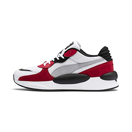 PUMA RS 9.8 Space, Zapatillas Unisex Adulto, White-High Risk Red, 43 EU