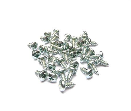 Blechschrauben Kreuzschlitz DIN 7981 (2,9 x 6,5 mm) 500 Stück
