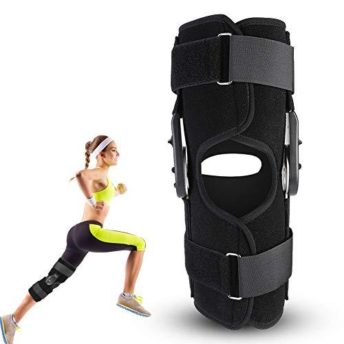 Kniebandage, Kompressions-Knieorthese, Anti-Rutsch-Kniebandage, Knieschoner für Orthopädische Bandverletzungen, Schutz für Schmerzlinderung, Meniskus, Arthritis, Laufen, Basketball, L