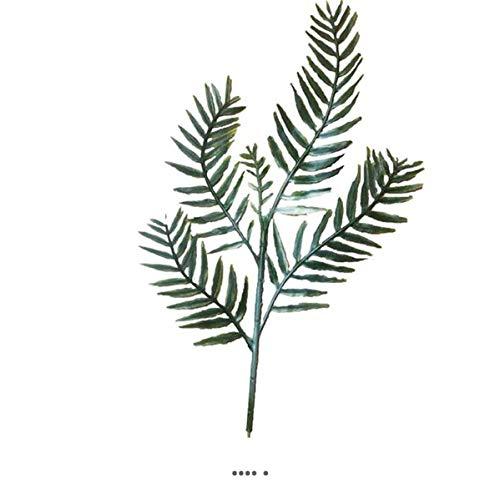 Artificielles.com - Feuille de poivrier H 44 cm Plastique pour extérieur D 20 cm Originale