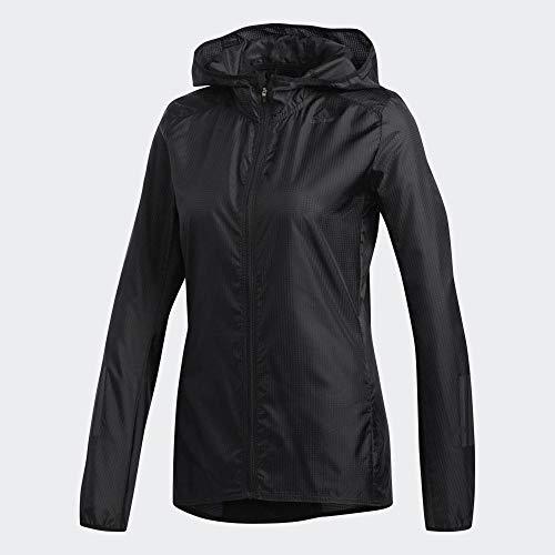 adidas Damen Response Translucent Wind Jacke, Black, M
