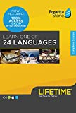 Rosetta Stone LIFETIME Access All 24 Languages