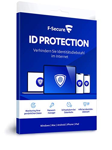 F-Secure ID Protection|Standard|5 Geräte|1 Jahr|PC/MAC/IOS/Android|Download|Download