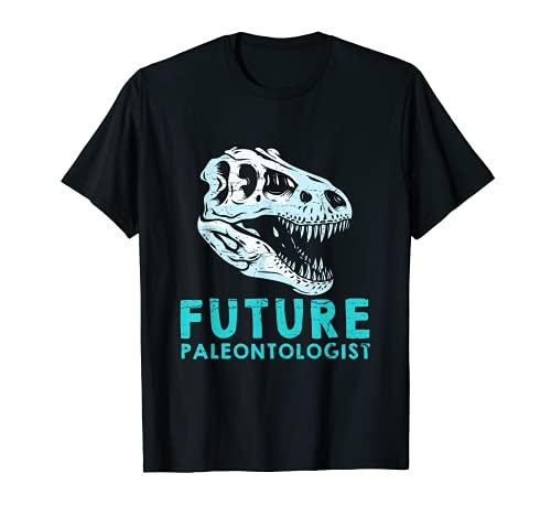 Paleontologa Disfraz Paleontlogo Historia de dinosaurios Camiseta