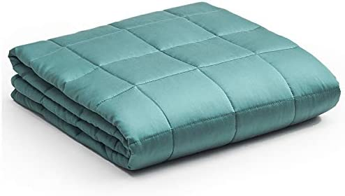 YnM Bamboo Weighted Blanket 100 Natural Bamboo Viscose Oeko Tex Certified Material with Premium product image